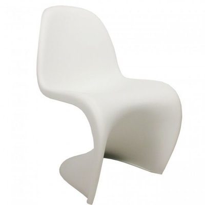S-Chair white