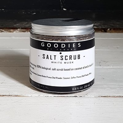 SALT SCRUB white musk  - GOODIES -