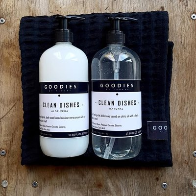 CLEAN DISHES, natural  - GOODIES -