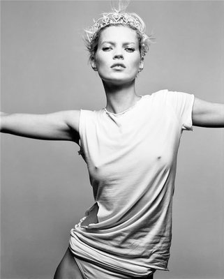 Poster Kate Moss - crown -