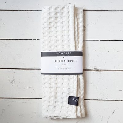 KITCHEN TOWEL off white - GOODIES -