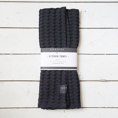 KITCHEN TOWEL black - GOODIES -