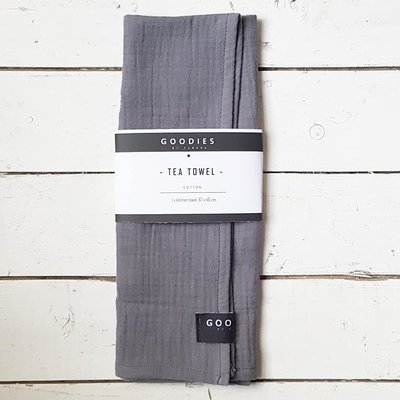 TEA TOWEL grey - GOODIES -