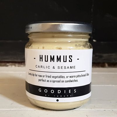 HUMMUS garlic & sesame - GOODIES -