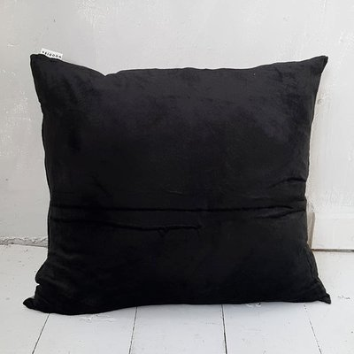 CUSHION velvet, black - GOODIES -