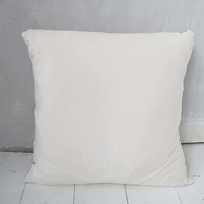CUSHION velvet, off white - GOODIES -