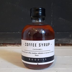 COFFEE SYRUP caramel - GOODIES -