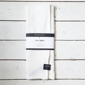 TEA TOWEL off white - GOODIES -