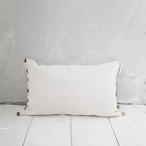 CUSHION sequins , off white - GOODIES -